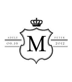 Love Logo #21 - Traditional Wedding Logo Design