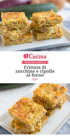 #Frittata di #zucchine e #cipolle al forno