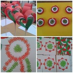 :) Projects For Kids, Crafts For Kids, Arts And Crafts, Kuwait National Day, Easter Activities For Kids, Opening Day, Spring Crafts, Creative Cards, Independence Day
