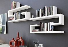 ideas for wall shelves