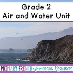 Air and Water unit - flashcards, word wall words, activities for Grade 2 science! Matches the Ontario Science Curriculum. Primary Science, Science Curriculum, Teaching Science, Science Activities, Teaching Ideas, French Course, Second Grade Science, Time In France, Physical Environment