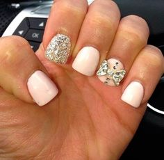 Top 70 Cute Bow Nail Art Designs!  Come to Luxury Spa & Nails for all of your pampering needs! Call (803) 731-2122 or visit www.luxuryspaandnails.weebly.com for more information!