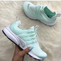 Shop Women's Nike Green White size Various Sneakers at a discounted price at Poshmark. Description: Nike air presto se sneakers New with box, without lid. Cute Sneakers, Cute Shoes, Women's Shoes, Me Too Shoes, Shoe Boots, Shoes Sneakers, Presto Sneakers, Shoes Style, Presto Shoes
