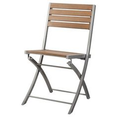 Threshold™ Bryant Faux Wood Patio Folding Chair : Target Mobile