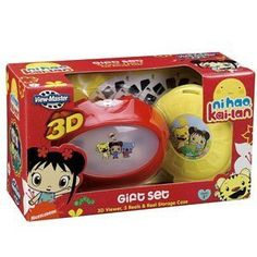 View Master: Nihao, Kai-Lan 3D Viewer Gift Set, 2015 Amazon Top Rated Viewfinders #Toy