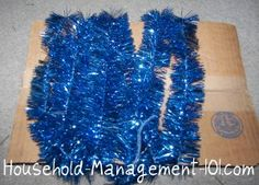 "Christmas garland storage. Wrap around cardboard, cover w plastic bag, hang via ""s"" hooks in storage closet w wreaths"