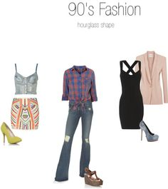 Day 25:  another era. Middle. 90's fashion