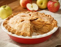 Apple Pie. Nothing is better than smelling a hot Apple Pie fresh out of the oven! Hot, warm apples baked. with a hints of cinnamon and vanilla. One of our favorites!
