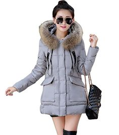 King Ma Womens Winter Warm Fur Thicke…