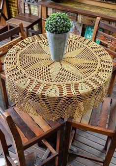 Crochet Sampler Afghan Pattern, Crochet Doily Diagram, Crochet Doily Patterns, Filet Crochet, Baby Knitting Patterns, Crochet Doilies, Crochet Table Runner, Crochet Tablecloth, Mantel Redondo