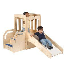 space saver wooden activity center