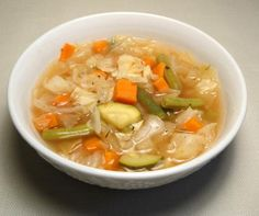 Ww 0 Point Weight Watchers Cabbage Soup Recipe - Food.com - 128956
