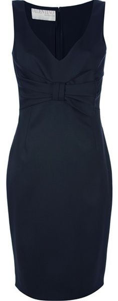 VALENTINO Bow Detail Shift Dress - Yeah, like where would I wear it?!?