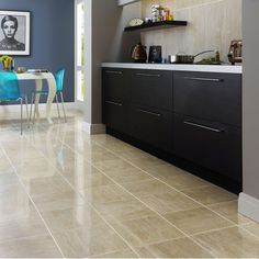 33.1x33.1cm Parallel Dark Beige floor and wall tile by BCT