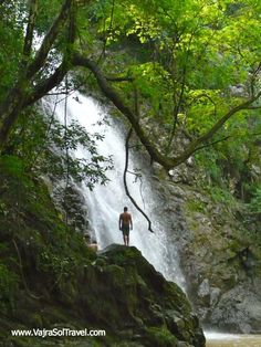 Take a day trip to the waterfalls of Montezuma on a yoga retreat with Vajra Sol in Costa Rica! vajrasoltravel.com