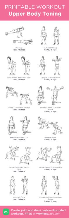 Upper Body Toning Workout   Posted By: AdvancedWeightLossTips.com