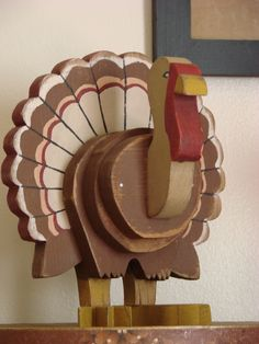 Wooden Turkey