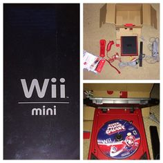 Red Wii Mini-Including Game- Offers Welcome! 100% perfect, working condition! This Wii Mini was pawned to my father by someone who never came back to get it, he gave it to me and I don't want it. The game included is Super Mario Galaxy, and it doesn't have any scratches on it but it doesn't come with its case. All cords and everything are included, so is its box. Any questions please ask! PINK Victoria's Secret Other