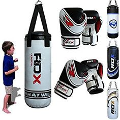 RDX Kids Heavy Boxing 2FT Punch Bag Filled MMA Punching Training Gloves KickBoxing: Amazon.co.uk: Sports & Outdoors
