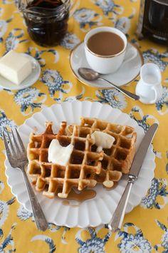 Sweet Treats: food, photography, life: Waffle Weekend: Banana Waffles