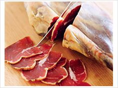 Hurtigruten Voyages, NORWAY: Fenalår, cured Norwegian game meat.