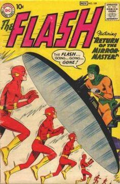 The Flash #109 - Return of the Mirror Master! / Secret of the Sunken Satellite