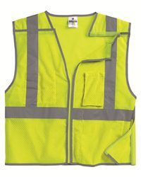 ML Kishigo   Brilliant Series Economy Breakaway Vest $19.28/ea | Americana  Sportswear 1505   Americana Sportswear