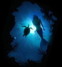 ♥ Ocean of Love (Mermaid & Turtle)