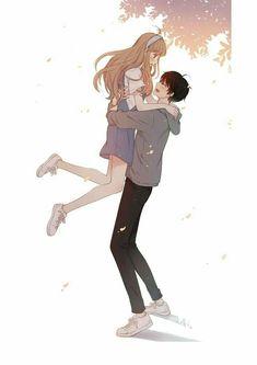 Super Ideas for drawing cute love Cute Couple Drawings, Anime Couples Drawings, Anime Couples Manga, Manga Anime, Anime Couples Cuddling, Anime Couples Hugging, Manga Couple, Anime Love Couple, Couple Art