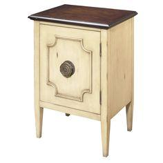 Athenis 1 Door Chairside Accent Cabinet
