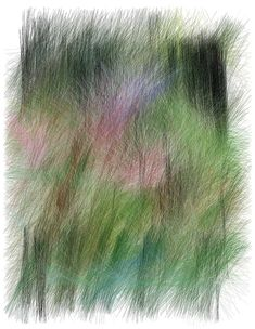 Ronan & Erwan Bouroullec exposent leurs dessins a la galerie kreo Illustration Botanique, Illustration Art, Ronan & Erwan Bouroullec, School Art Projects, Textiles, Green Art, Textures Patterns, Painting Inspiration, Graphic Art