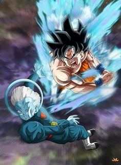 Goku vs the Grand Priest