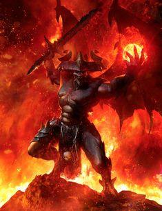 New Dark Art Illustrations Demons Scary Ideas Warhammer 40k Art, Warhammer Fantasy, Chaos Warhammer, Fantasy Monster, Monster Art, Dark Fantasy Art, Fantasy Artwork, Demon Artwork, Final Fantasy