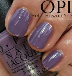 OPI Hello Hawaii Ya? Nail Polish Swatches // Hawaii Collection for Spring 2015