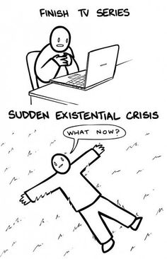 Every time a TV series ends...