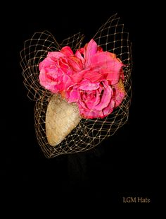 LGM Hats. A stunning fascinator perfect for a wedding or day at the races.