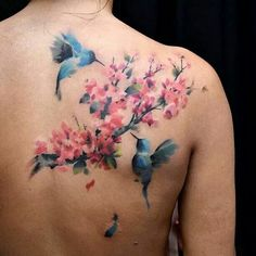 Tattoo of the sakura (japanese cherry blossoms). Description from pinterest.com. I searched for this on bing.com/images