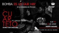 Bomba es lo que hay @ La Sombra de Ito #sondeaquipr #bombapr #lasombradeito #aguada