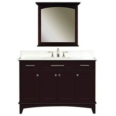 DreamLine Wall Mounted Modern Bathroom Vanity Set | OWN | Pinterest | Bathroom  Vanities, Vanities And Wall Mount Good Ideas