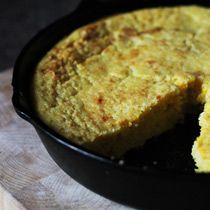 The Southern girl in me just cant get enough--Fresh-Corn Cornbread