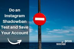 Do an Instagram Shadowban Test and Save Your Account Instagram Insights, Instagram Tips, Instagram Accounts, Instagram Posts, Facebook Customer Service, Save Yourself, Accounting, Told You So, Hacks