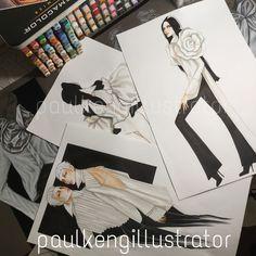 The White Shirt   Designer & Illustrator @paulkengillustrator @paulkengofficial