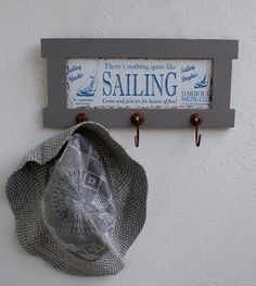 www.scandihome.pl :: Wieszak morski SAILING z 3 haczykami