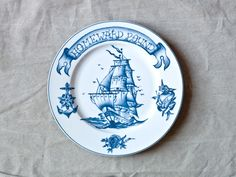 Shop Homeward Bound (Back in stock of December, you can order now!) from By Mutti in Plates & bowls, available on Tictail from Plates And Bowls, Side Plates, Love List, Beautiful Table Settings, My Art Studio, Shop Forever, China Porcelain, Decorative Plates, Product Launch