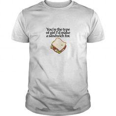 Awesome Tee NICE T-SHIRT SANDWICH GIRL(LIGHT) T-Shirts - Men's Premium T-Shirt Shirts & Tees #tee #tshirt #named tshirt #hobbie tshirts # Sandwich