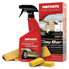 3. Mothers California Gold Clay Bar System