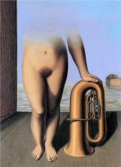 * Rene Magritte - - - The flood