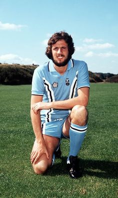 Mick Ferguson of Coventry City in 1976.
