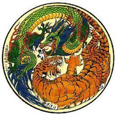 dragon/tiger yin/yang
