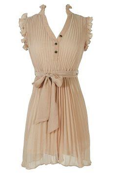 Com-pleat My Heart Dress in Sand